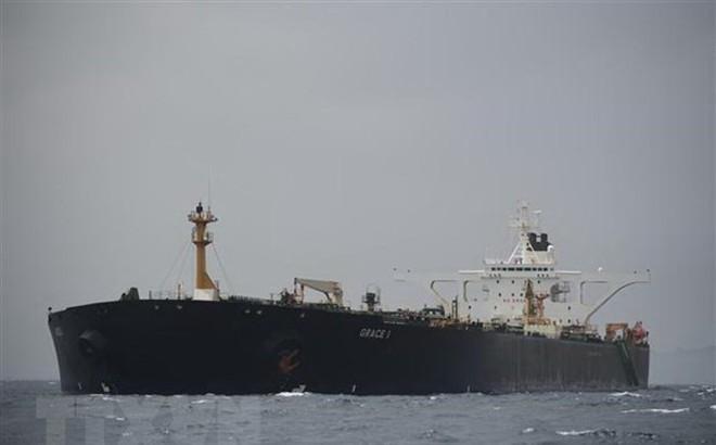 Mỹ công bố lệnh bắt giữ siêu tàu chở dầu Grace 1 của Iran