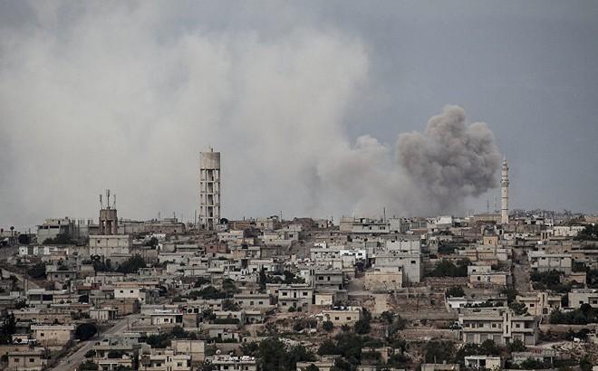 Tấn công như vũ bão, quân Assad vùi dập kẻ thù không thương tiếc