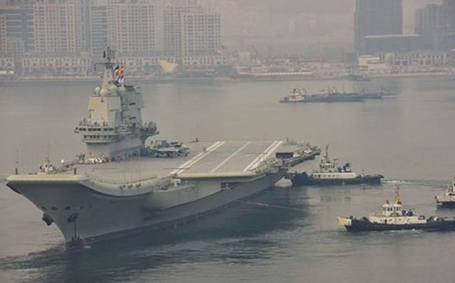 Quân đội Trung Quốc sắp chính thức sử dụng tàu sân bay nội địa đầu tiên Type 001A