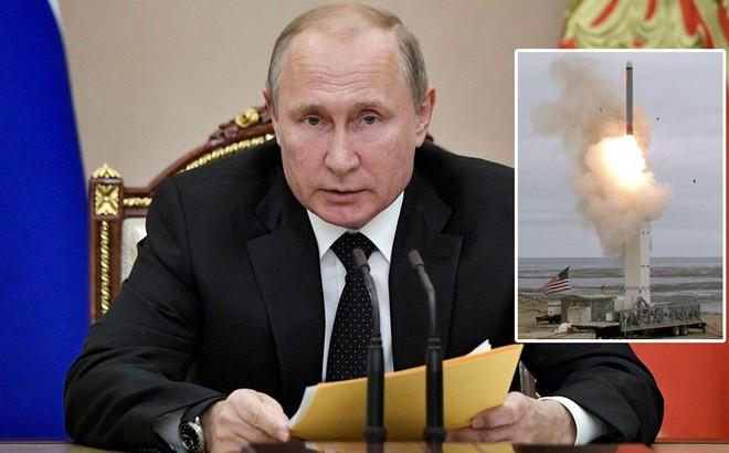 Ông Putin doạ sẽ 'đáp trả tương xứng' vụ thử tên lửa Mỹ