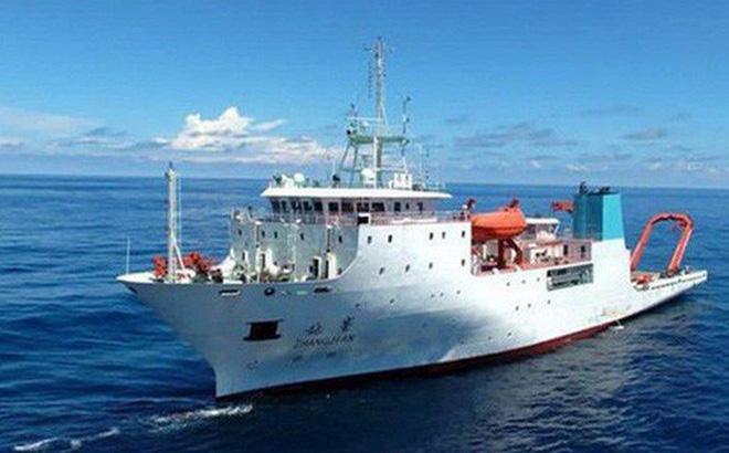 Tàu khảo sát Trung Quốc âm thầm trở lại vùng biển Philippines