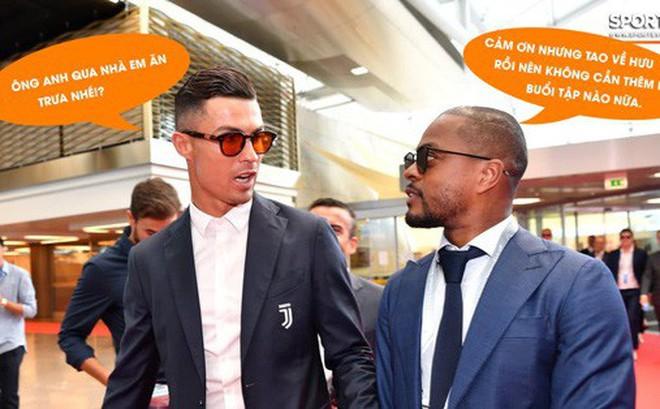 """Ronaldo gợi lại bữa ăn trưa đầy """"kinh hoàng"""" với cựu đồng đội MU"""