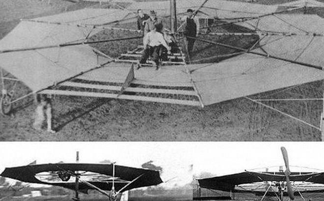 Những chiếc đĩa bay kỳ lạ xuất hiện trong lịch sử hàng không thế giới