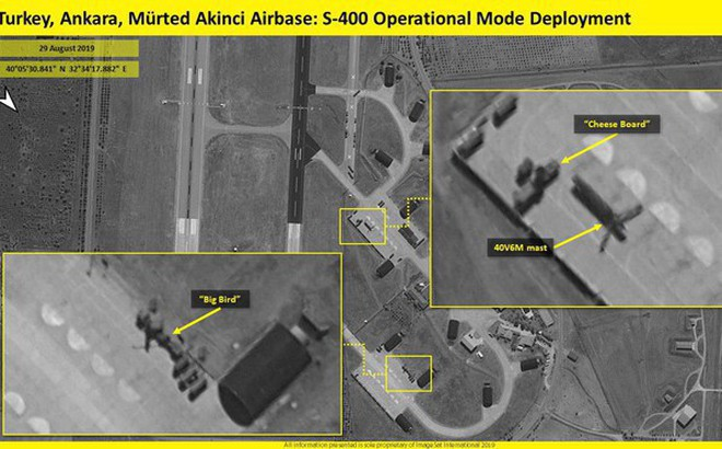 Hé lộ vị trí triển khai, tình trạng chiến đấu của S-400 Nga đầu tiên tại Thổ Nhĩ Kỳ
