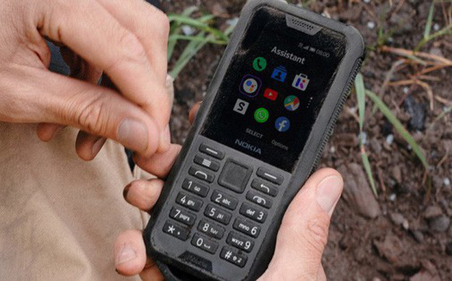 Nokia ra mắt 'cục gạch' siêu bền, chống nước, pin 43 ngày, giá 2.8 triệu đồng
