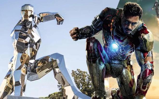 Xuất hiện một bức tượng kim loại để tưởng nhớ Iron Man tại Ý