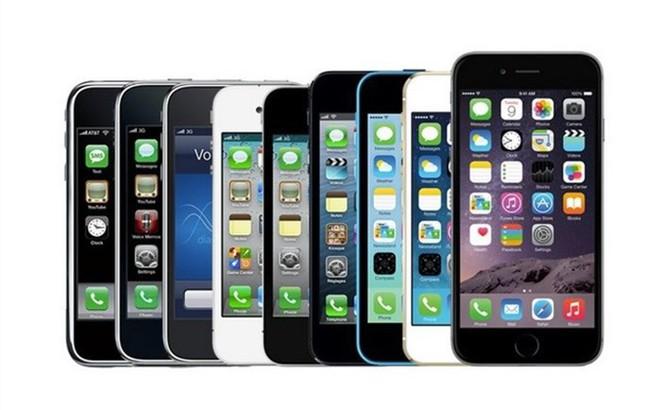 Infographic: iPhone đã thay đổi như thế nào qua 12 năm?