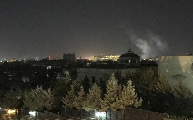 Afghanistan: Nổ gần Đại sứ quán Mỹ tại Kabul, liên quan đến tấn công bằng đạn pháo