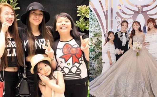 """Giữa """"tâm bão"""" drama vợ 2 của bố, con gái Minh Nhựa gây khó hiểu khi đăng ảnh ngày xưa 4 mẹ con vui vẻ bên nhau"""