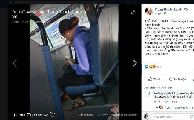 Thông tin mới vụ nữ soát vé 'mất việc vì khách đi chui'