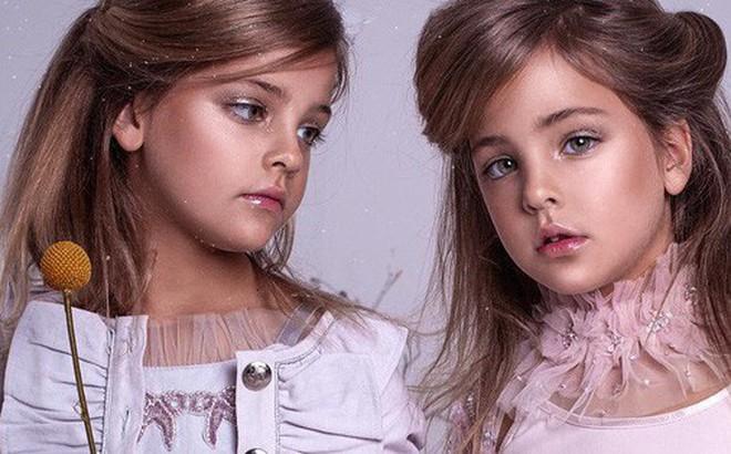 'Cặp chị em song sinh đẹp nhất thế giới' nay đã lớn: Sở hữu 1,4 triệu follow trên Instagram, mới 9 tuổi đã 'cá kiếm' cả triệu đô mỗi năm