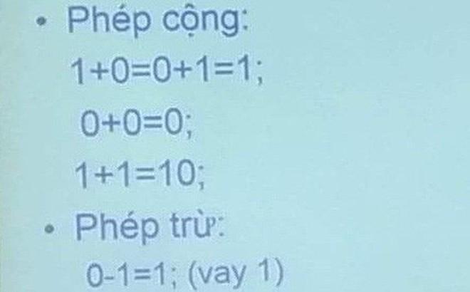 Ai bảo lên Đại học nhàn chắc phải rút lại câu nói khi nhìn thấy phép toán này