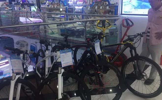 Xe đạp trăm triệu vẫn bán chạy