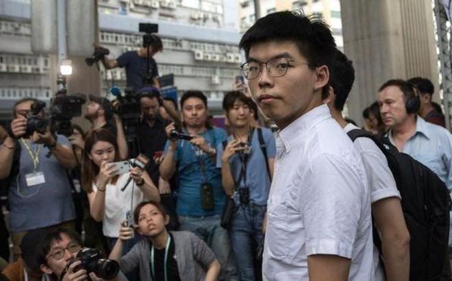 Trung Quốc phản ứng vụ bị Hoàng Chi Phong làm khó tại Mỹ