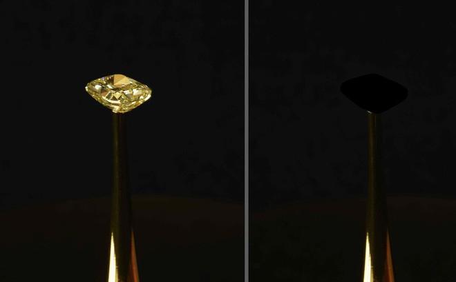 Hé lộ vật chất đen tối nhất thế giới, che phủ hoàn toàn kim cương