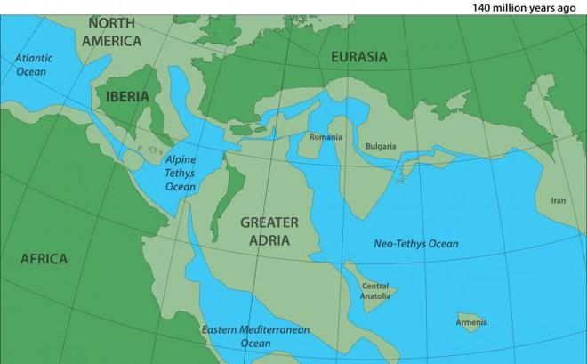 Điều bất ngờ về lục địa mới dưới đáy biển Địa Trung Hải mới được tìm thấy