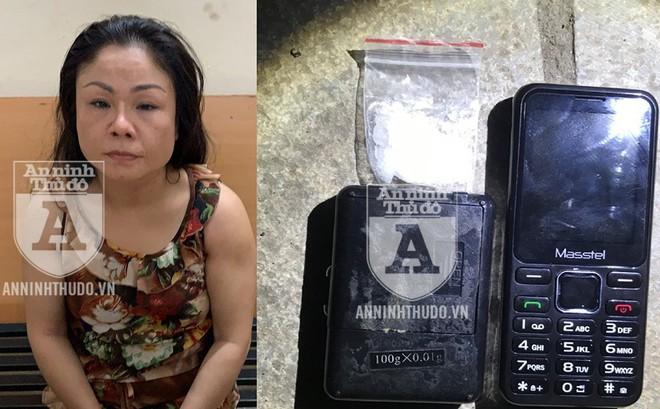 """Người phụ nữ giấu ma túy trong """"chỗ hiểm"""", không thoát Cảnh sát 141"""