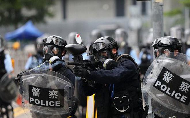 Cảnh sát Hong Kong cảnh báo dùng đạn thật đối phó biểu tình