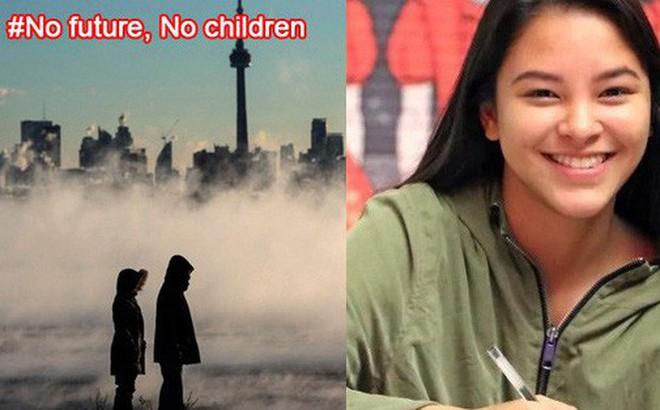 Bức xúc trước sự thờ ơ của chính phủ trước nạn biến đổi khí hậu, giới trẻ Canada đồng loạt cam kết không sinh con