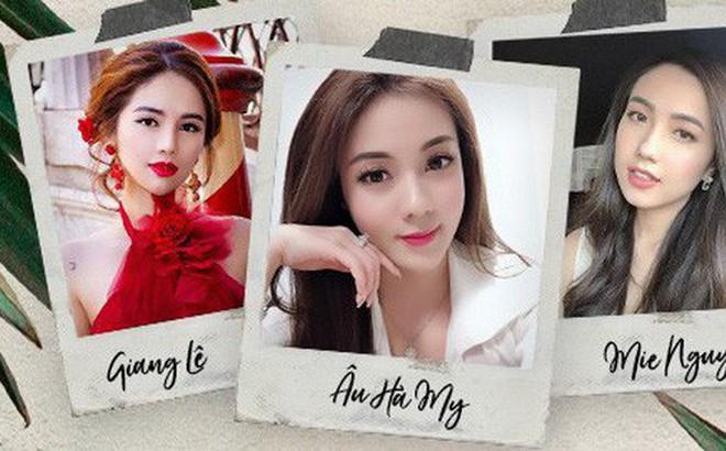 """Soi nhan sắc 3 cô dâu sắp """"theo chàng về dinh"""": Mie Nguyễn như công chúa bước ra từ cổ tích, nữ giảng viên Hà My lại sexy hết nấc"""