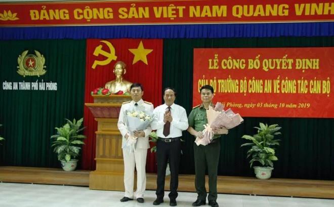 Đại tá Vũ Thanh Chương giữ chức Giám đốc Công an Hải Phòng
