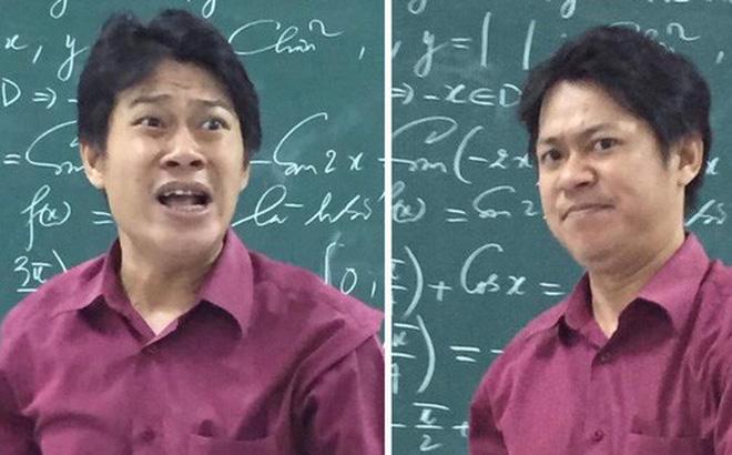 Cũng chỉ là giảng bài bình thường, nhưng biểu cảm độc đáo đã khiến thầy giáo này thu về hơn 70.000 like chỉ sau một đêm đăng ảnh