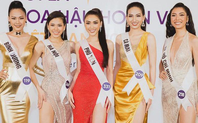 Top 60 Hoa hậu Hoàn vũ Việt Nam chính thức lộ diện: Thúy Vân, Hương Ly cùng đụng độ khoe nhan sắc bất phân thắng bại