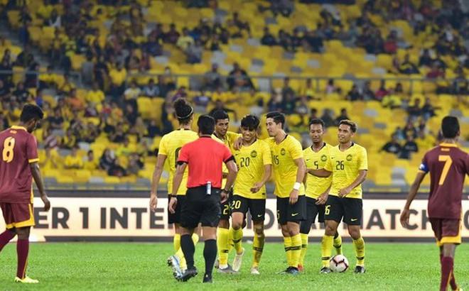 Đội tuyển Malaysia chốt danh sách 23 cầu thủ đấu Việt Nam