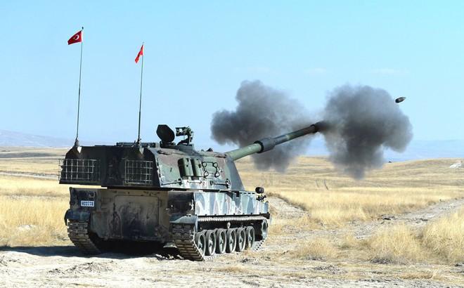 Thổ Nhĩ Kỳ dồn dập pháo kích các vị trí của người Kurd ở Đông Bắc Syria
