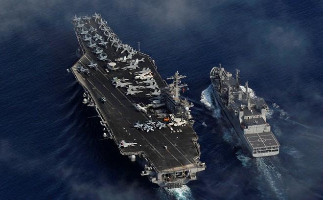 Ba cường quốc dùng sức mạnh áp đảo để cảnh cáo Trung Quốc ở Biển Đông