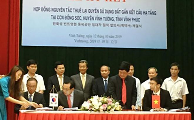 Vĩnh Phúc sắp có nhà máy 880 triệu USD sản xuất linh kiện cho Samsung, Apple