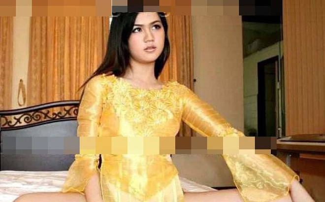 Sau Ngô Thanh Vân, lộ ảnh Ngọc Trinh mặc áo dài không quần và ngồi phản cảm