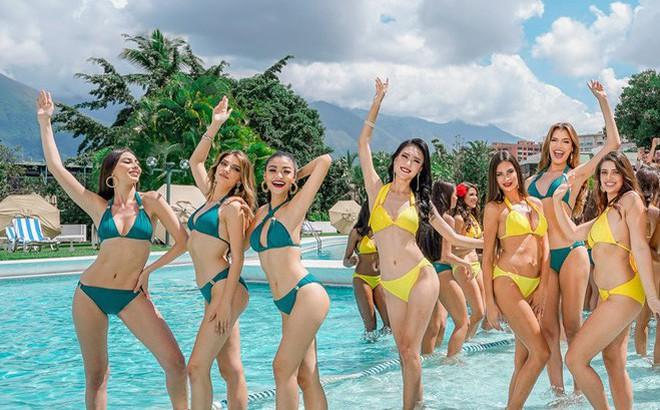 Kiều Loan uyển chuyển, phô đường cong thể hình với bikini tại Miss Grand