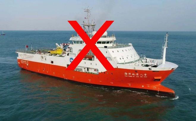 Tàu khảo sát HD8 của Trung Quốc cùng tàu hộ tống đã rời vùng biển Việt Nam