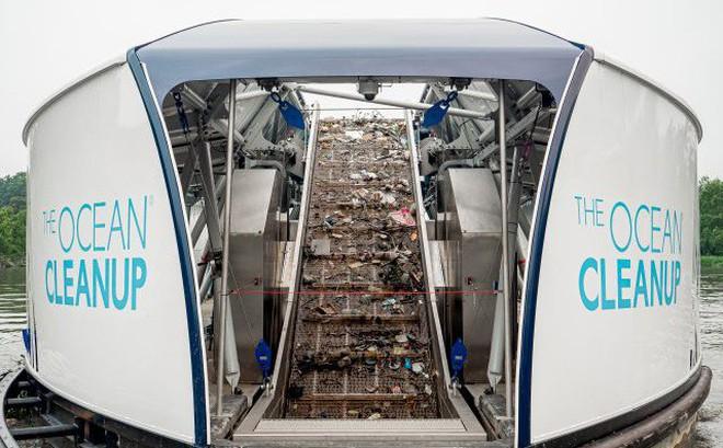 'Siêu' thiết bị thu gom rác thải trên sông dự kiến sẽ được triển khai tại Việt Nam