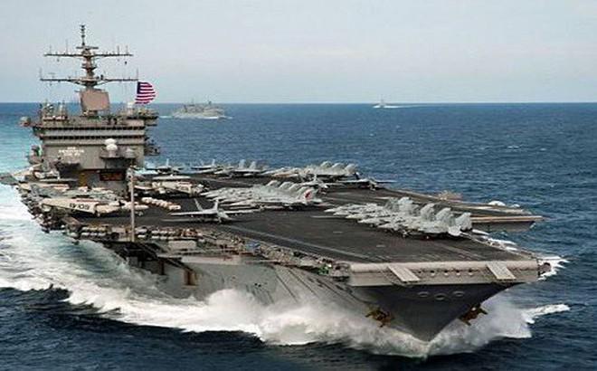 """Tàu sân bay đắt nhất thế giới USS Gerald R. Ford """"hùng dũng"""" tiến ra biển cả"""