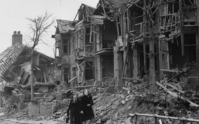 Ảnh hiếm về cuộc sống thường ngày trong Thế chiến II