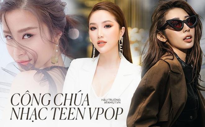 Tình duyên của 3 nàng công chúa nhạc teen Vpop sau 10 năm: Chỉ duy nhất một người đứng vững trên hào quang và trở thành biểu tượng tình yêu đẹp