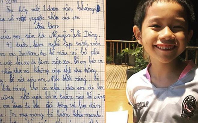 """Chỉ là bài văn thông thường của cậu học sinh lớp 3, nhưng khi biết """"công thức viết văn"""" của bà mẹ thì ai cũng phục sát đất"""