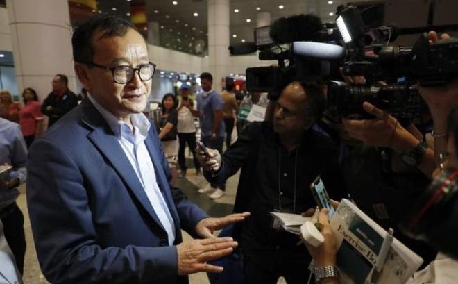 Ông Sam Rainsy có mặt tại Malaysia