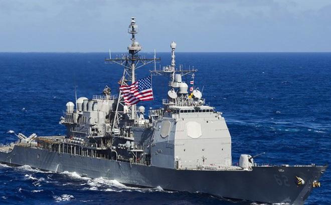 Chiến hạm Mỹ trang bị tên lửa đi qua eo biển Đài Loan, lời cảnh báo gửi tới TQ