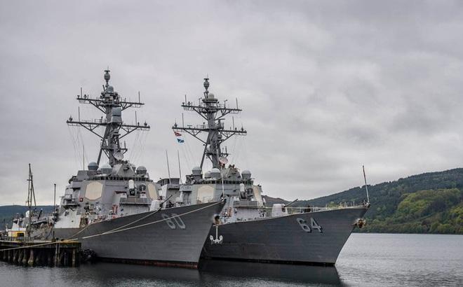 Hải quân Mỹ từng hủy tuần tra Biển Đen vì ông Trump sợ gây thù với Nga