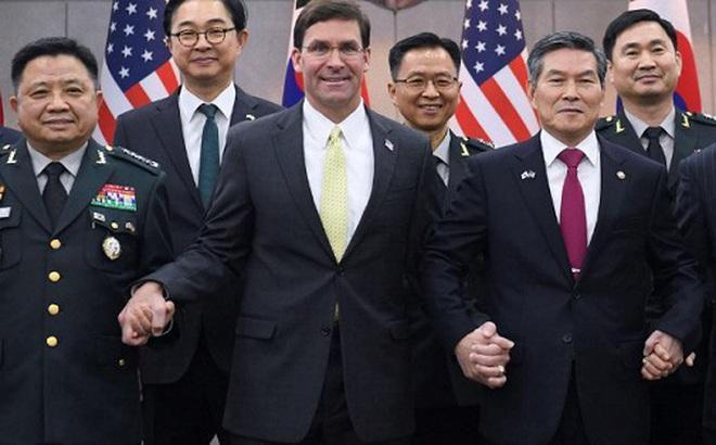 Lầu Năm Góc bác tin Mỹ rút quân khỏi Hàn Quốc