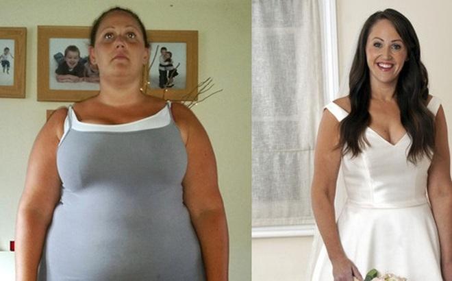 Cô gái  hoãn đám cưới tận 18 năm để tập trung giảm cân, lấy lại vóc dáng thon gọn mới tự tin mặc váy cưới