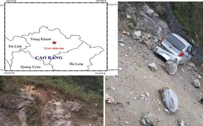 Vì sao Cao Bằng liên tục có động đất?