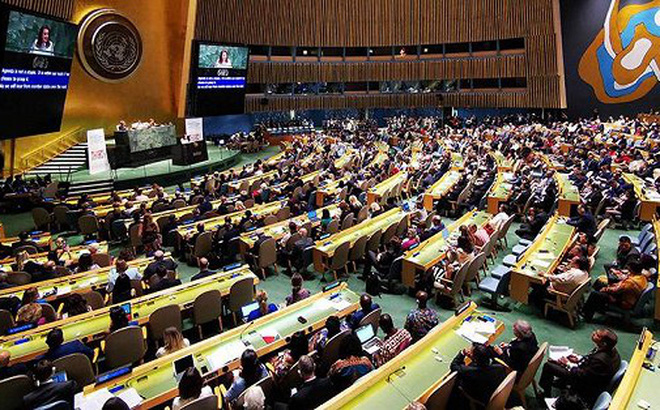 Bài phát biểu của nghị sĩ Nga tại diễn đàn Liên hợp quốc bị Ukraine 'phá bĩnh'