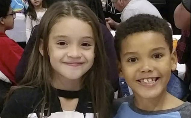 Đang ngồi với chị gái bị kẻ bắt cóc ập vào khống chế, nhờ hành động đầy nhanh trí, bé trai 8 tuổi cứu thoát cả mình và chị