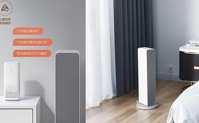 Xiaomi ra mắt máy sưởi thông minh: Điều khiển bằng giọng nói, công suất 2000W, giá 2.6 triệu đồng