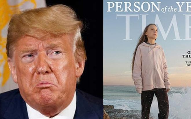 Nhà hoạt động môi trường nhí Greta Thunberg đáp trả sâu cay Tổng thống Trump khi bị ông mỉa mai việc được Time chọn là nhân vật của năm