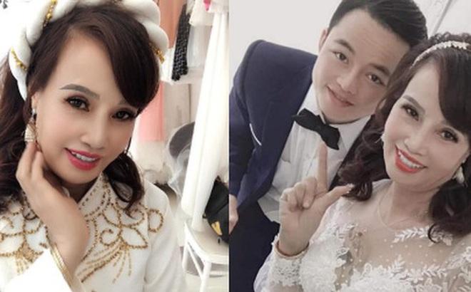 Sau khi 'tân trang' nhan sắc, cô dâu 62 tuổi cùng chồng đi chụp lại ảnh cưới để... hâm nóng tình cảm